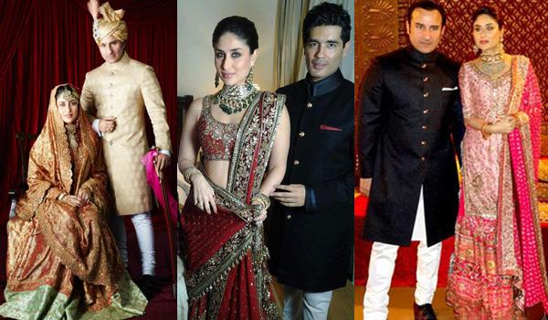 Saif Ali Khan and Kareena Kapoor's Wedding