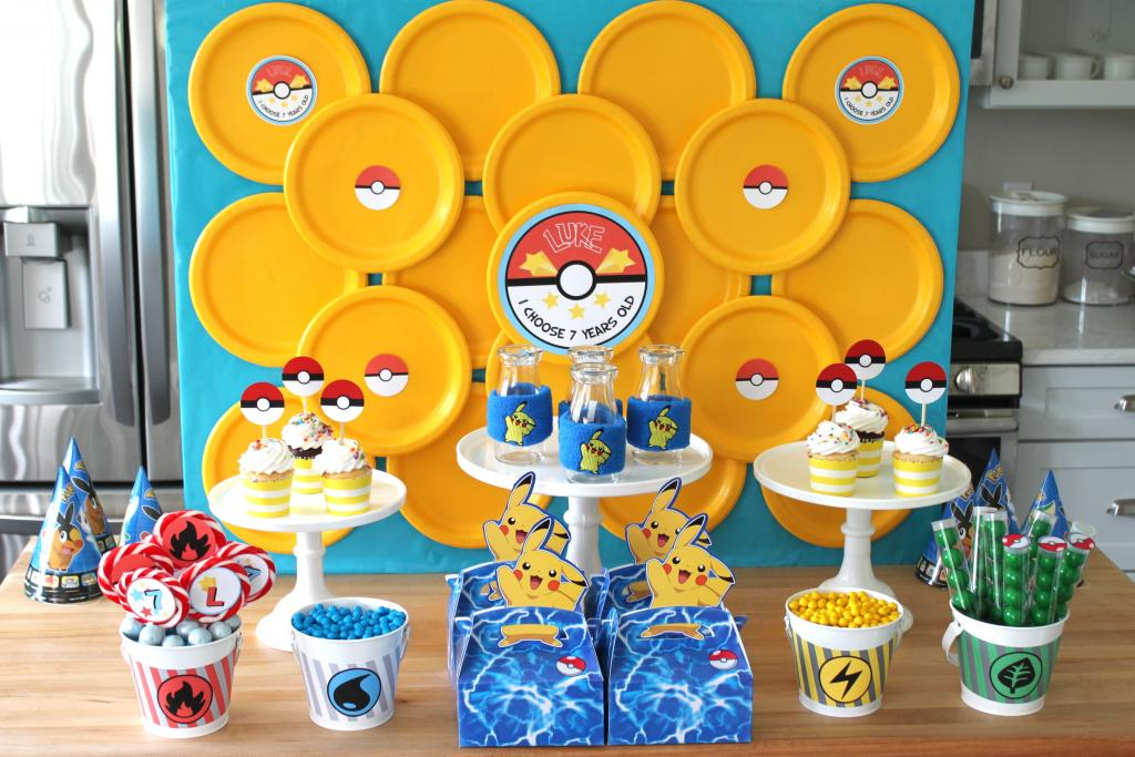 Pokemon Theme For A Kid S Birthday Party Bookeventz