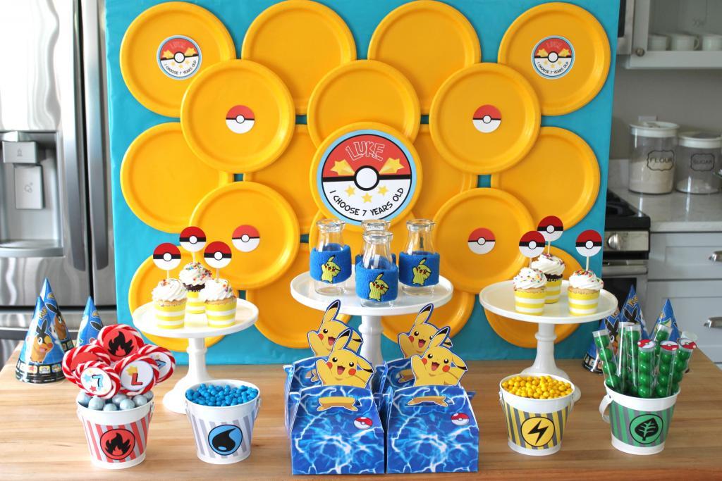 Pokemon Theme Birthday Party
