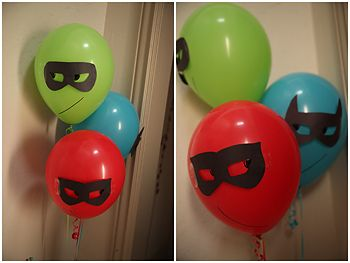 Superhero Party Balloons!