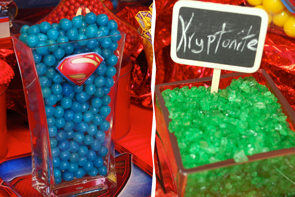 Superhero Candies
