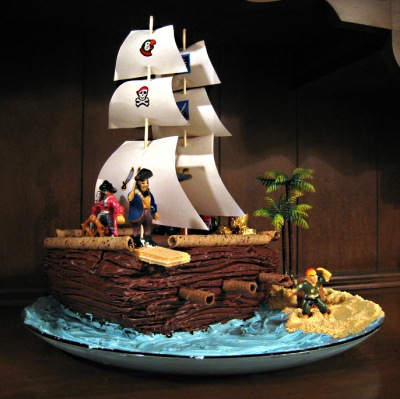 Pirate Theme For A Kid S Birthday Party