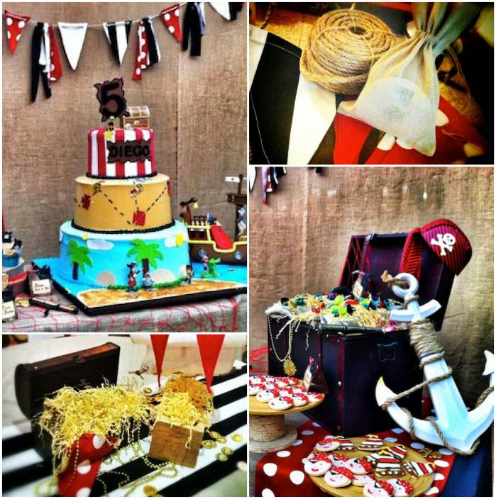 Guest Book Ideas: Pirate Theme For A Kid's Birthday Party