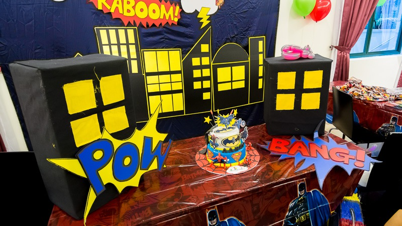 superhero-kids-party-singapore-3d-backdrop