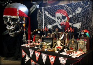 Pirate Theme Party Decor