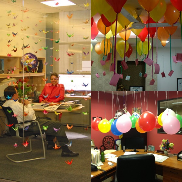boss's birthday party decoration