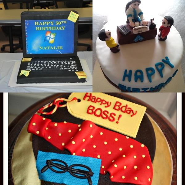 birthday cake for boss's birthday party