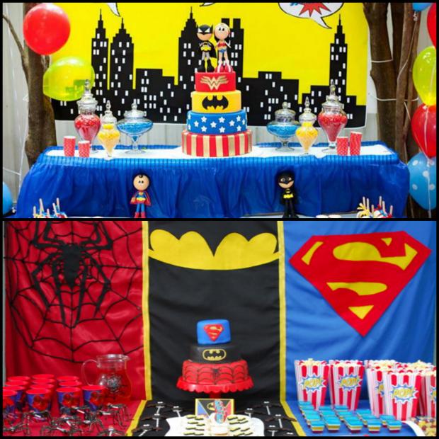 Superhero Theme Party