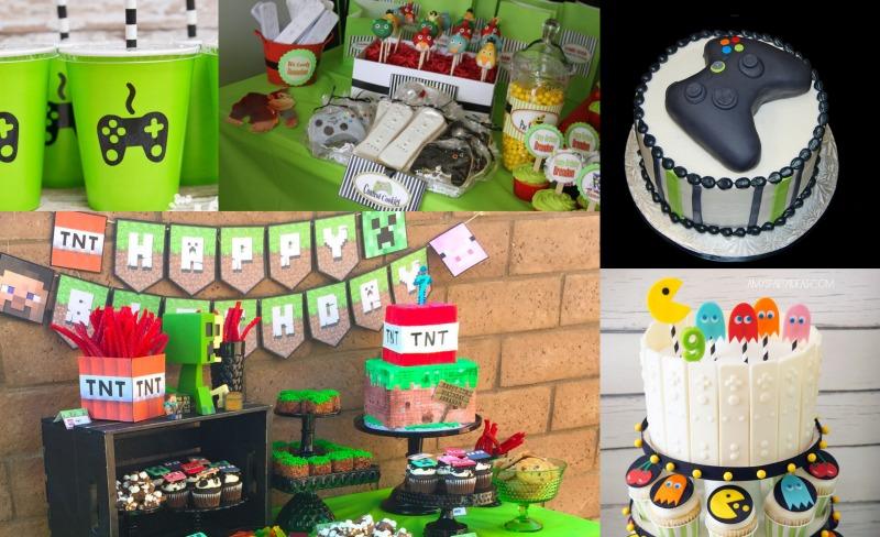 gamer's birthday theme