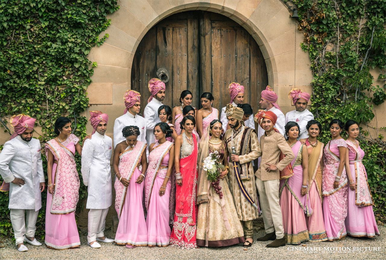 indian wedding guests