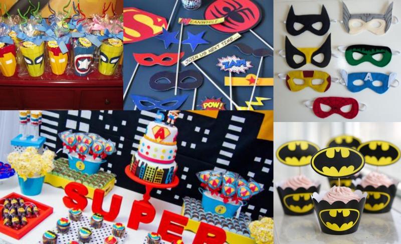 superhero birthday theme