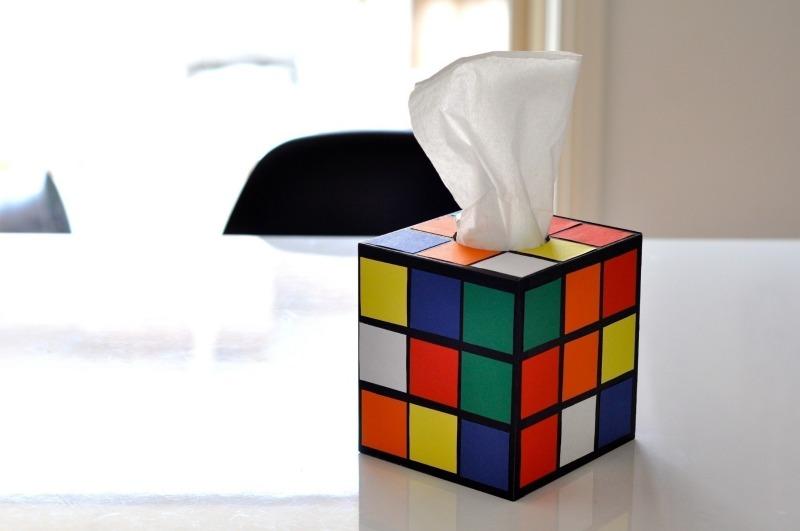creative tissue box