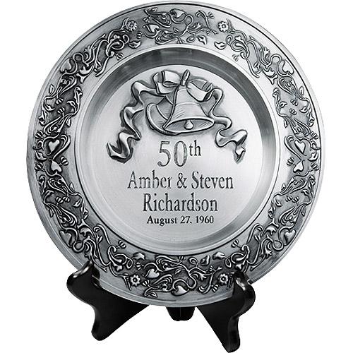 wedding anniversary gift anniversary plate