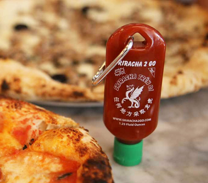 ketchup keychain- gift idea for freshers party
