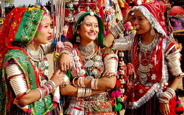 Rajasthani costume
