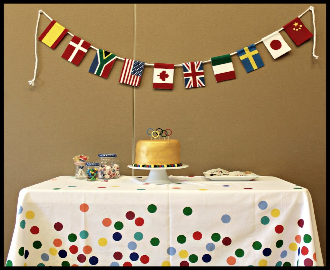 Olympic theme birthday party