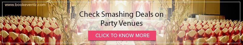 book best party venue
