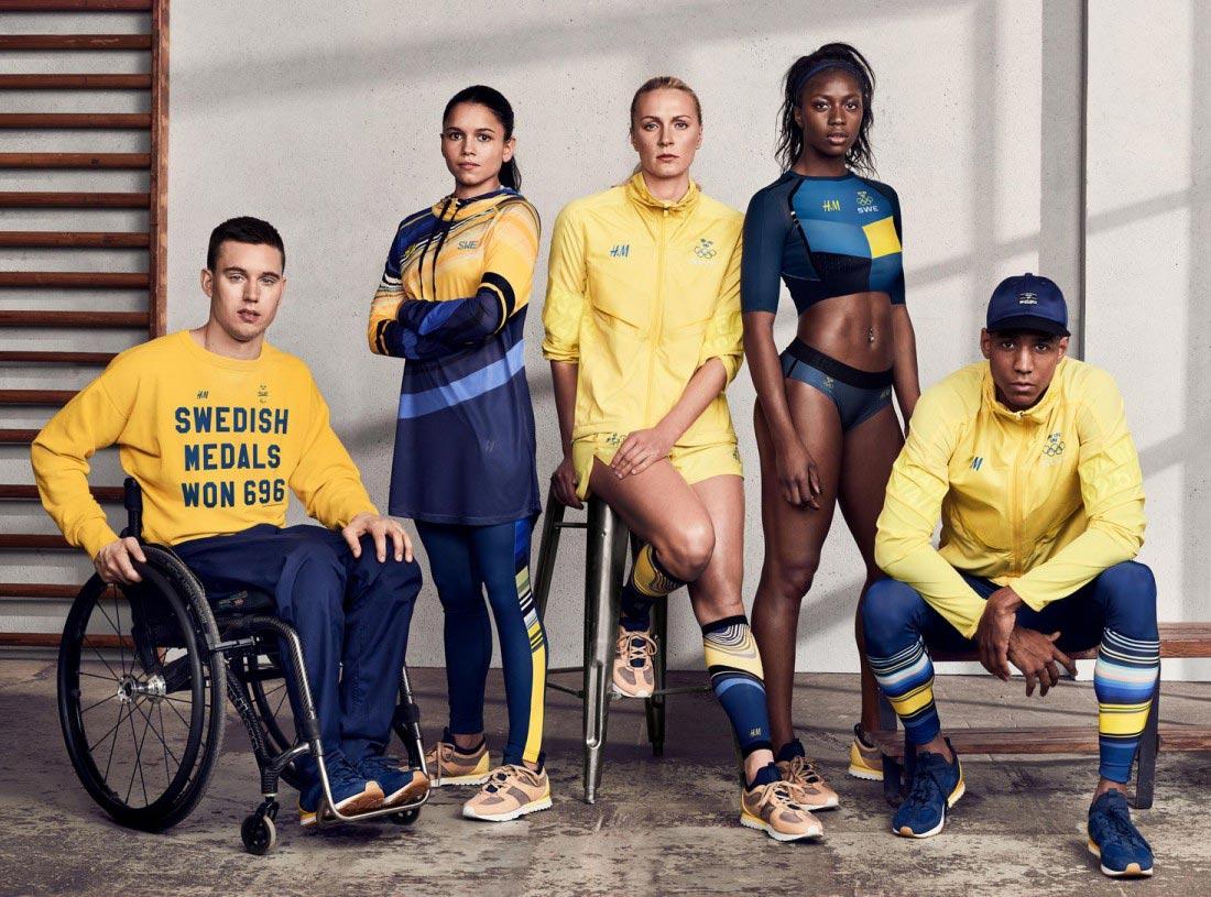 Olympic fashion evolution