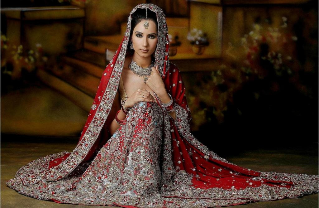 Different types of bridal dresses around the world for Most expensive wedding dress in india