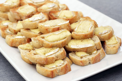 Brie on Bread