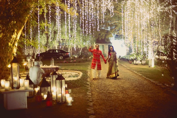 7 indian style wedding venue decor ideas hanging lights decor junglespirit Choice Image