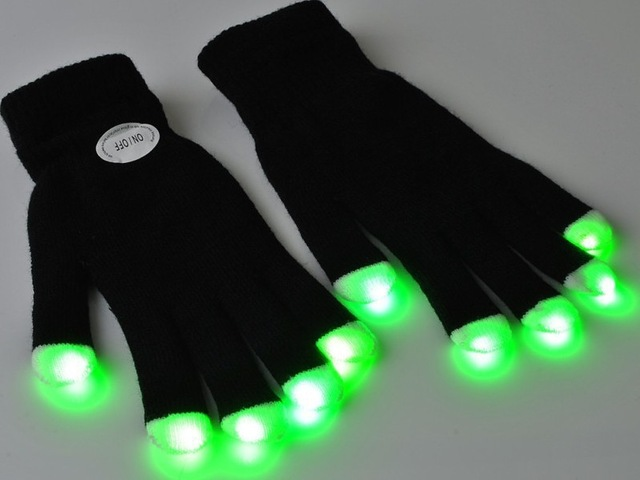 glow party gloves