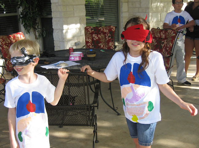 Blind Obstacle Course Birthday Party Games