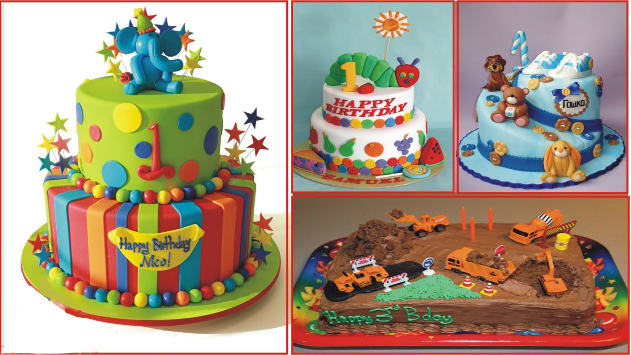 Remarkable 9 Simple Birthday Cake Designs For Kids That Would Leave You Personalised Birthday Cards Sponlily Jamesorg