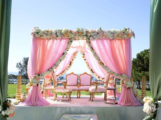 pink-outdoor-roses-wedding-mandap