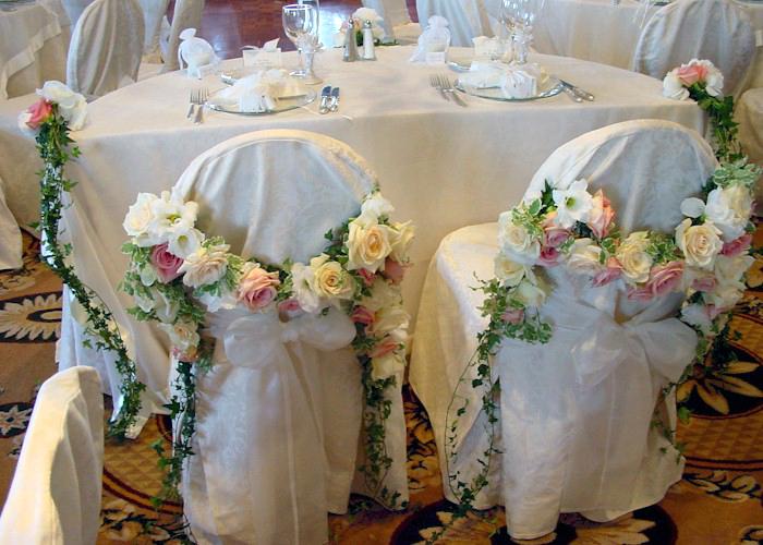 rose chair decor