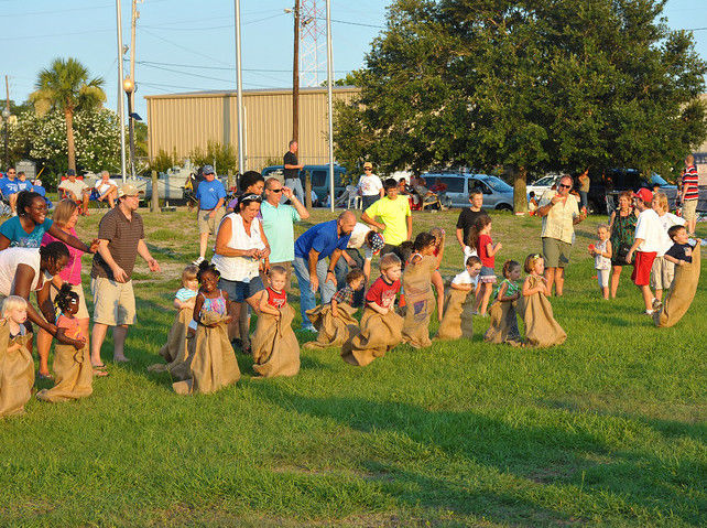 Sack Race Birthday Party Games