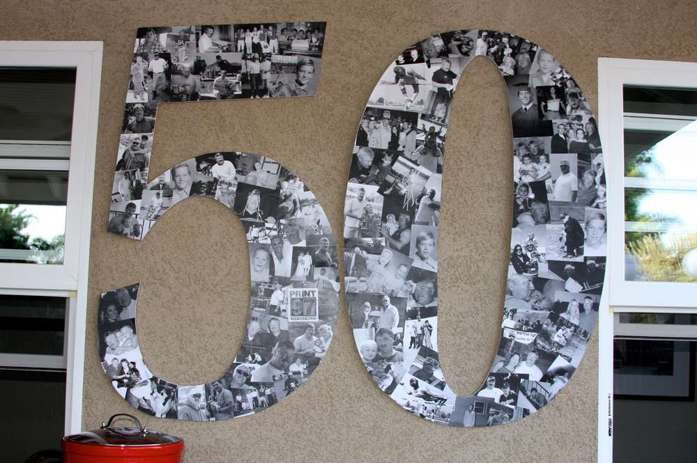 50th Birthday Party Decorations To Make Image Inspiration of Cake