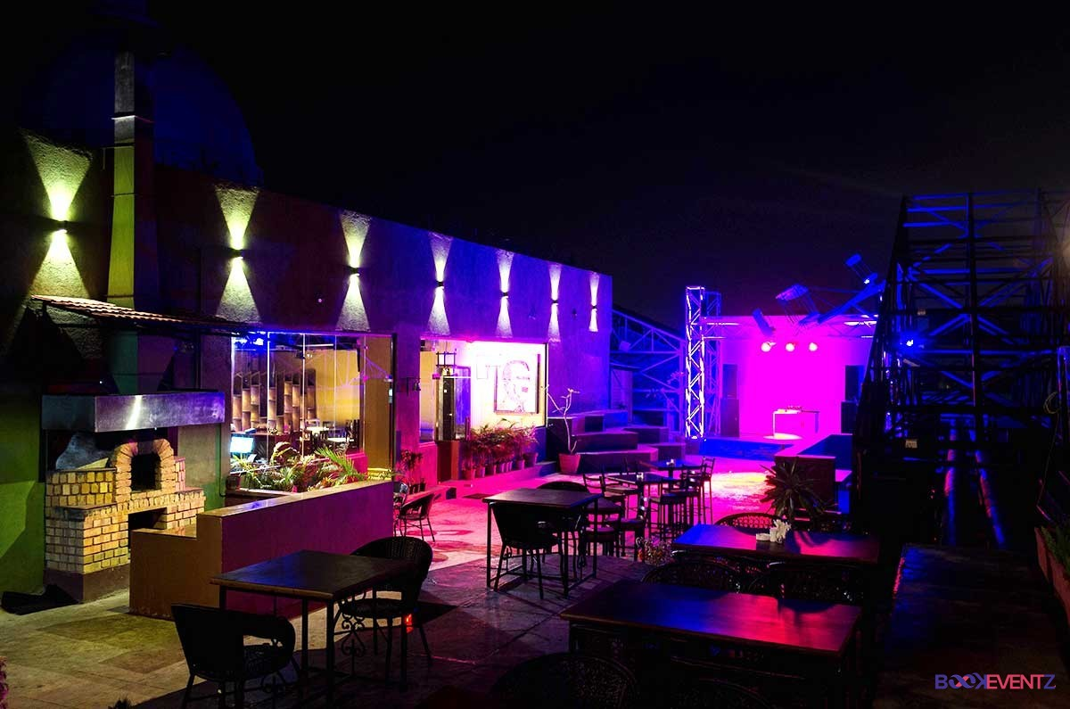 anonymous cafe bar- cocktail party venues in pune