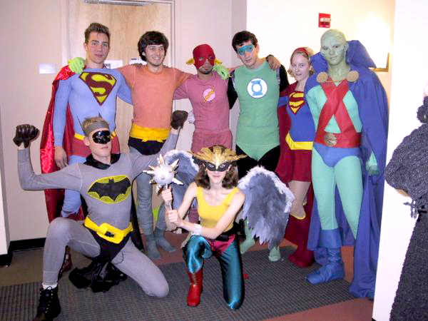 comic con- get together party theme