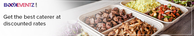 book the best caterer at great discounts