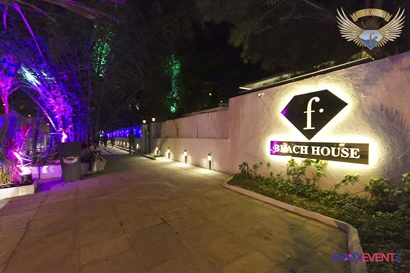 f beach house cocktail party venues in Pune