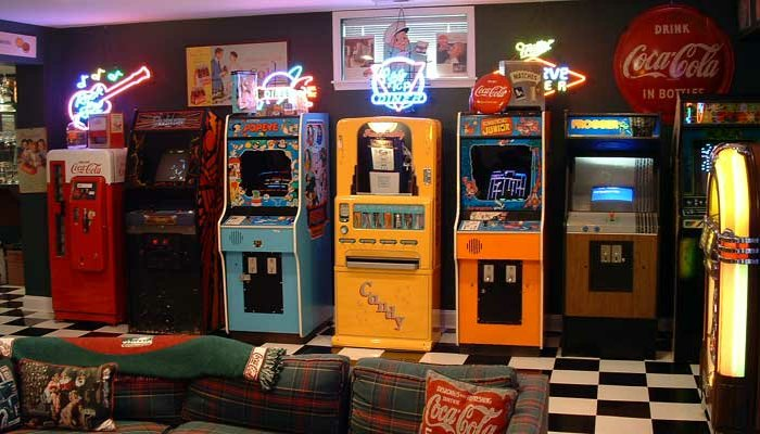 arcade games for 50th birthday party