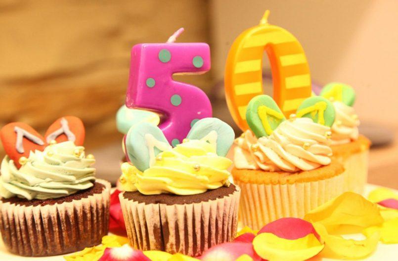 50th birthday party celebration