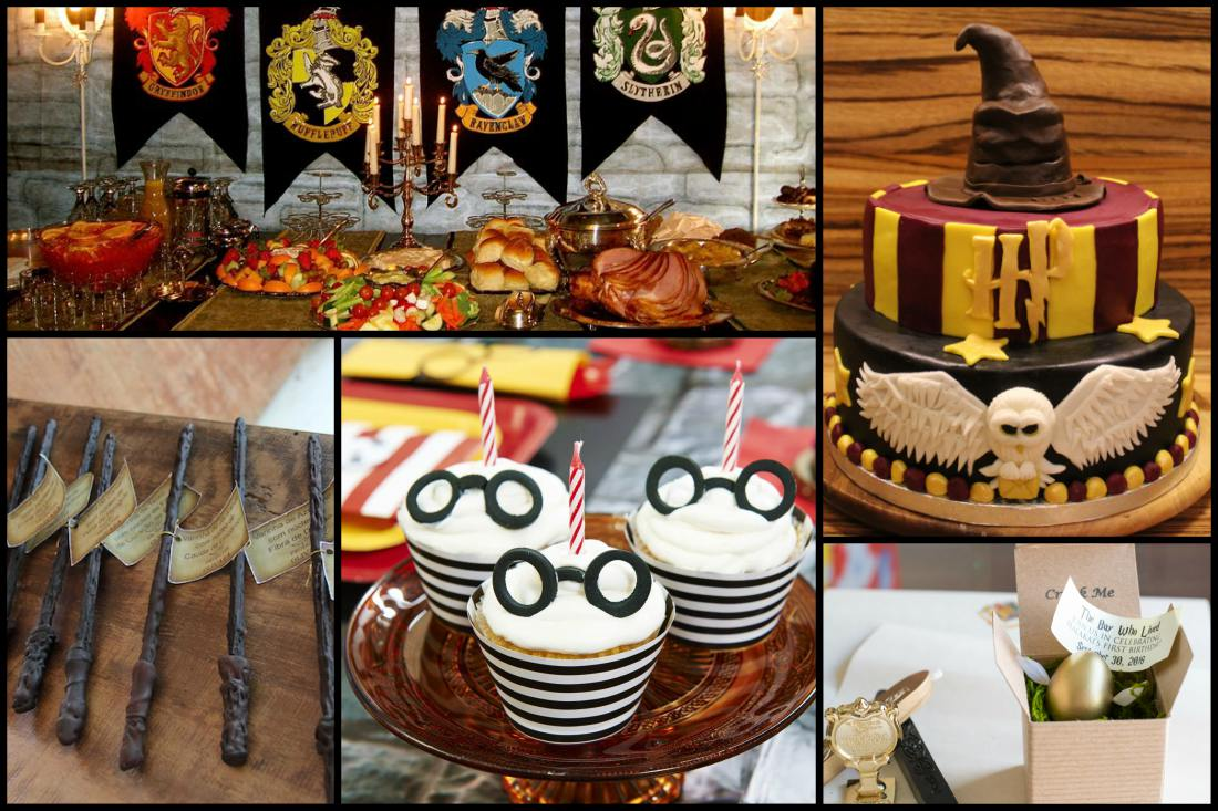 how to throw a surreal harry potter themed birthday party