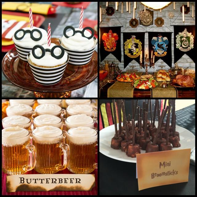 harry potter themed birthday food