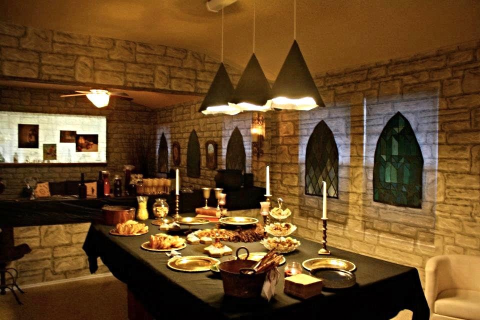 harry potter themed birthday party great hall