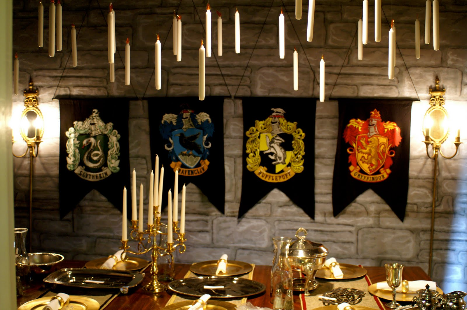 harry potter theme decor- cocktail party ideas