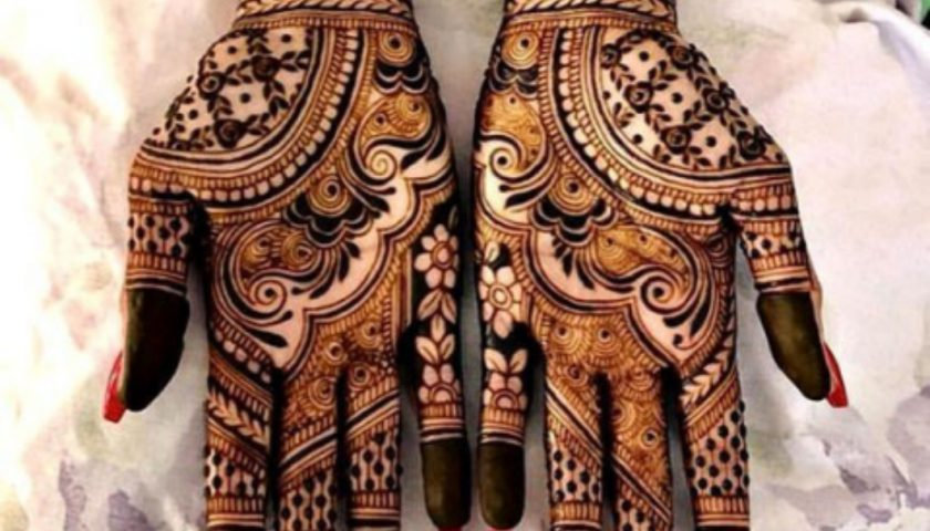 indian bridal mehendi designs