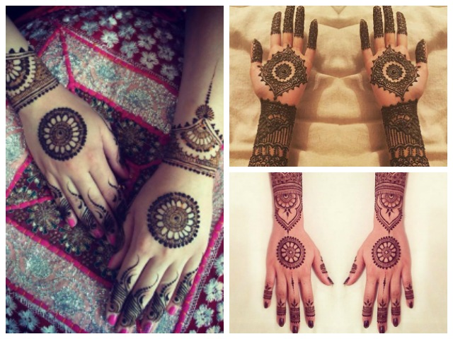 trendy bridal indian mehndi designs- mandala, indian bridal mehendi designs