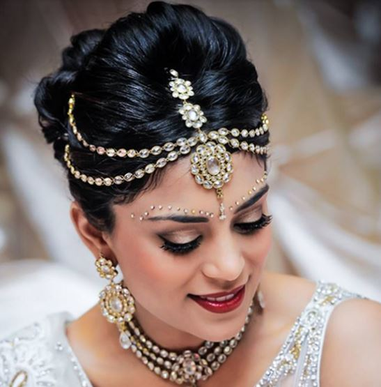 matha patti- indian bridal make up ideas