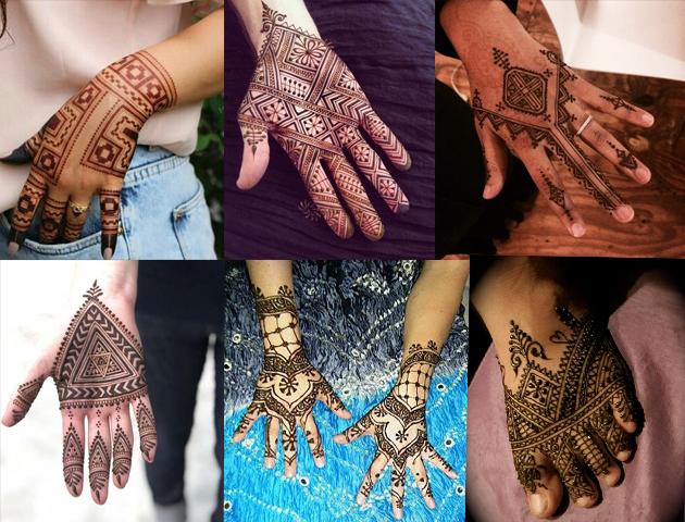 Moroccan Indian Bridal Mehendi Designs