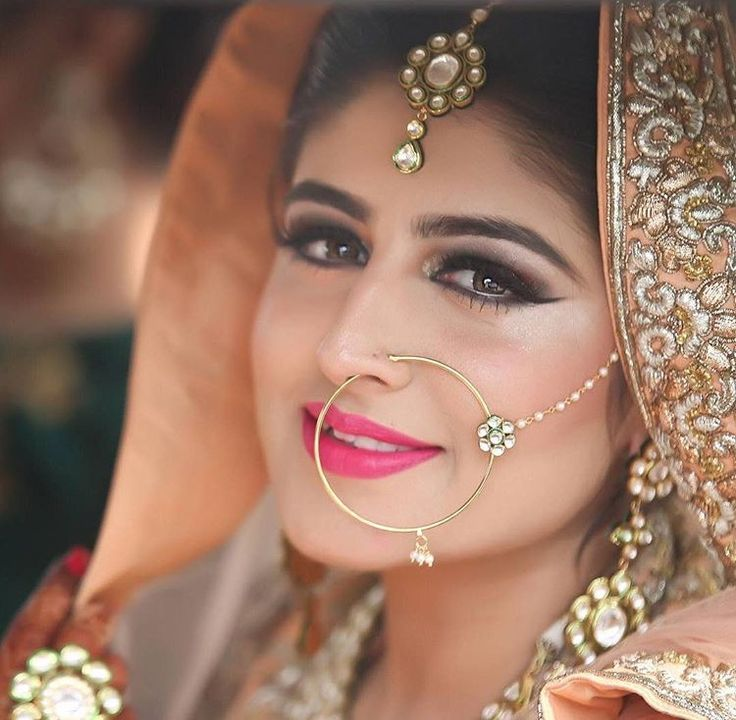 Pastel Lip Shades Bridal Make Up Ideas