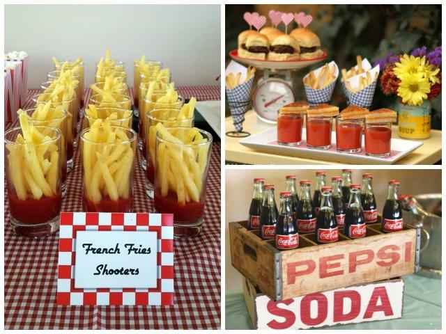 25th wedding anniversary food ideas