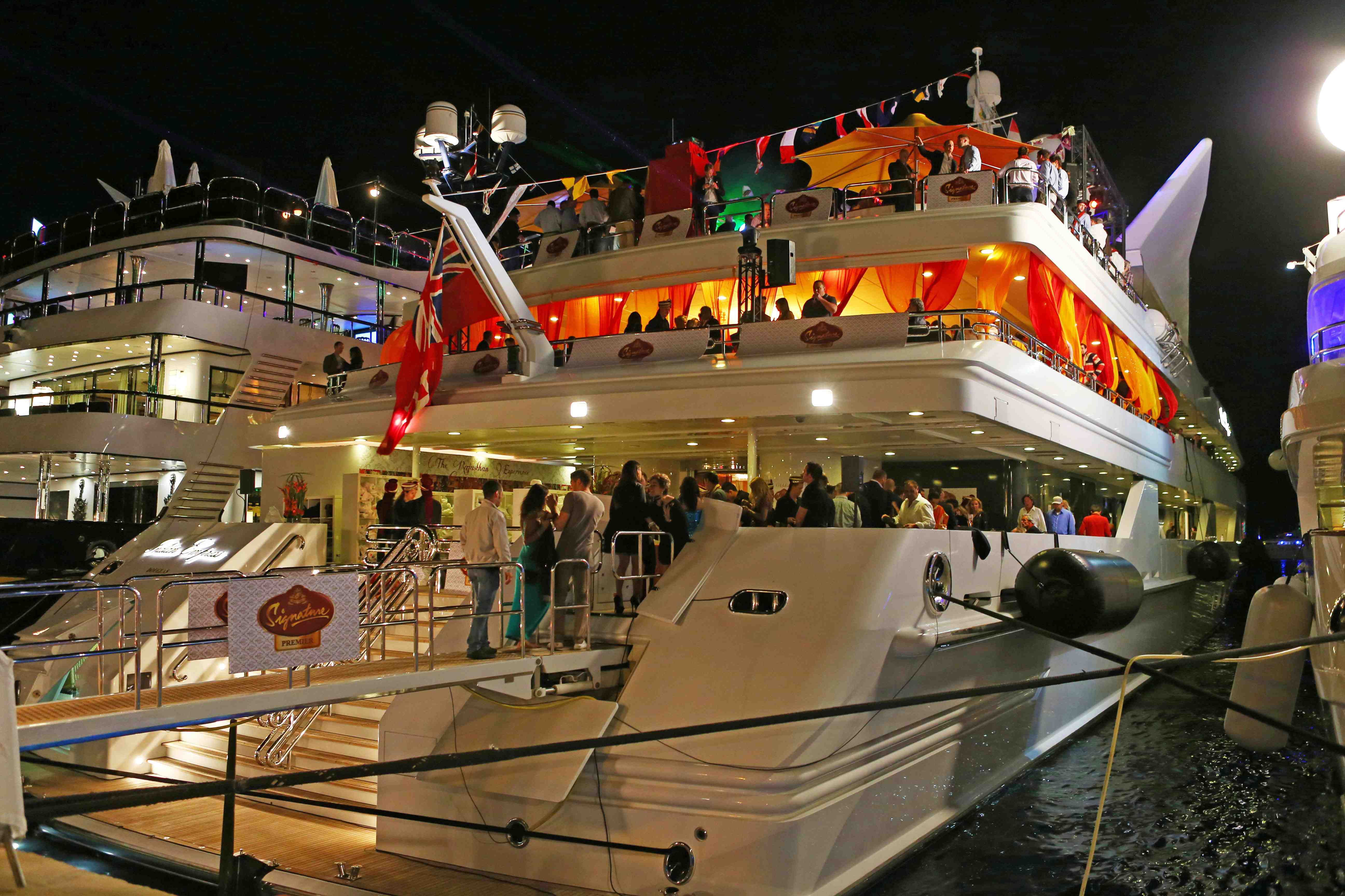 corporate annual day celebration- boat party