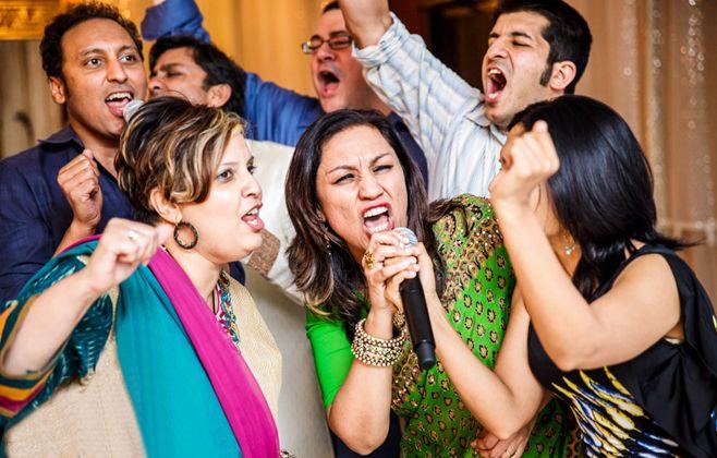 Karaoke-singing